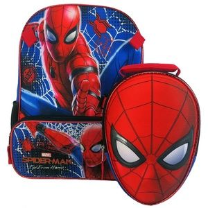 Spider-Man Backpack And lunch box